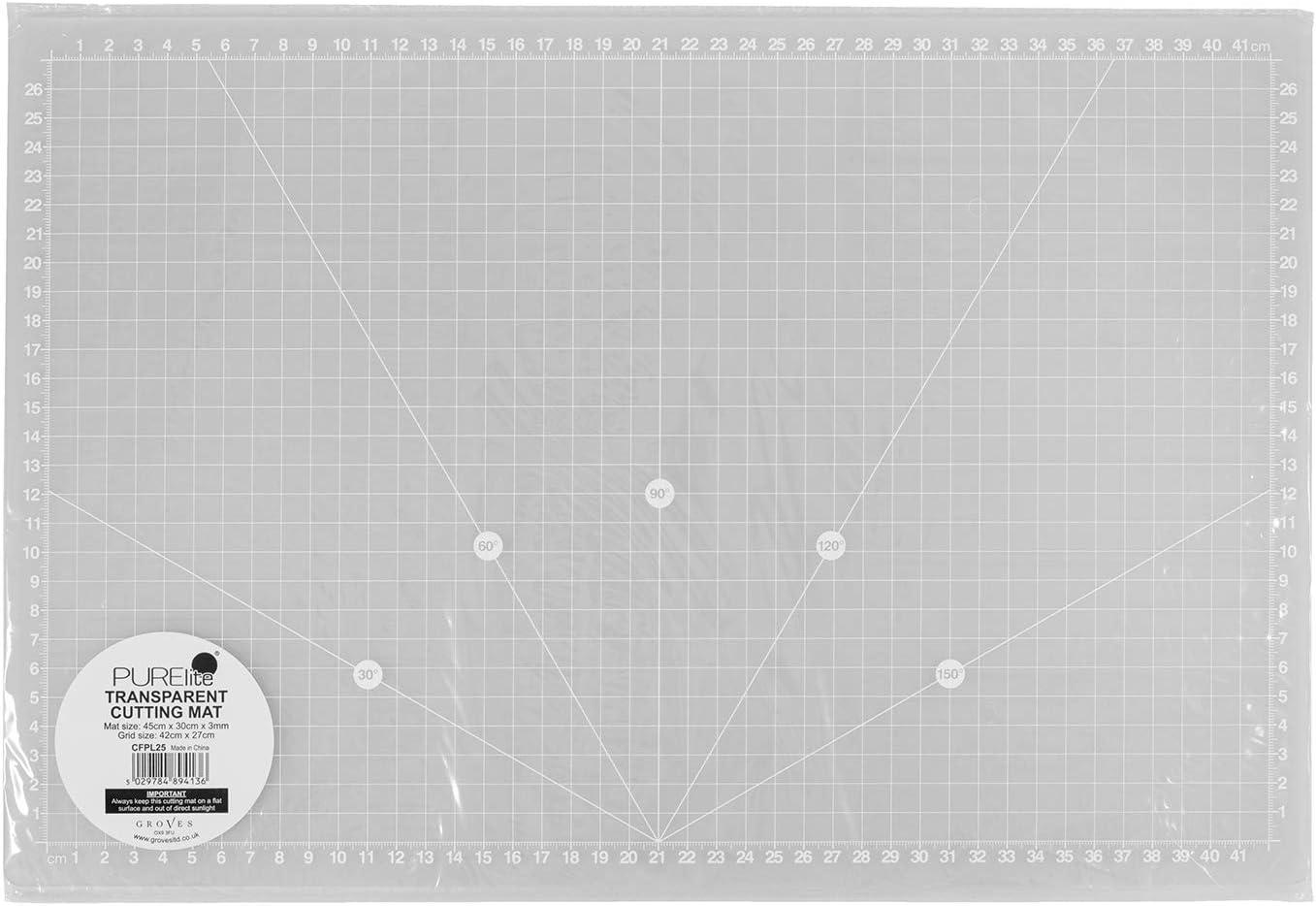 A3 PURElite CFPL25 transparente Schneidematte durchsichtig