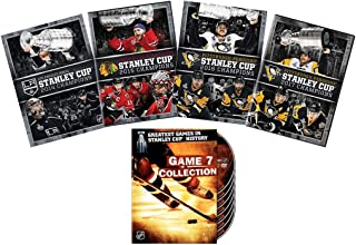 Ultimate NHL Stanley Cup Champions DVD Collection: Greatest Games in Stanley Cup History: Game 7 Collection / 2014 Los Angeles Kings / 2015 Chicago Blackhawks / 2016 Pittsburgh Penguins / 2017 Pittsbu