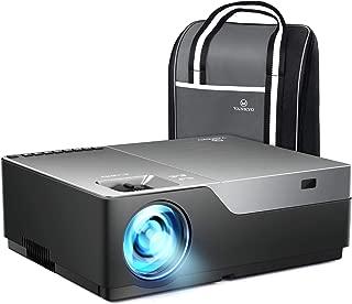 Vankyo 1080pフルHDプロジェクターV600 データプロジェクター 5000ルーメン 1920×1080ネイティブ解像度 4KフルHD対応 300インチ 大画面 高コントラスト5000:1 ビジネス用とホームシアター両用のプロジェクター
