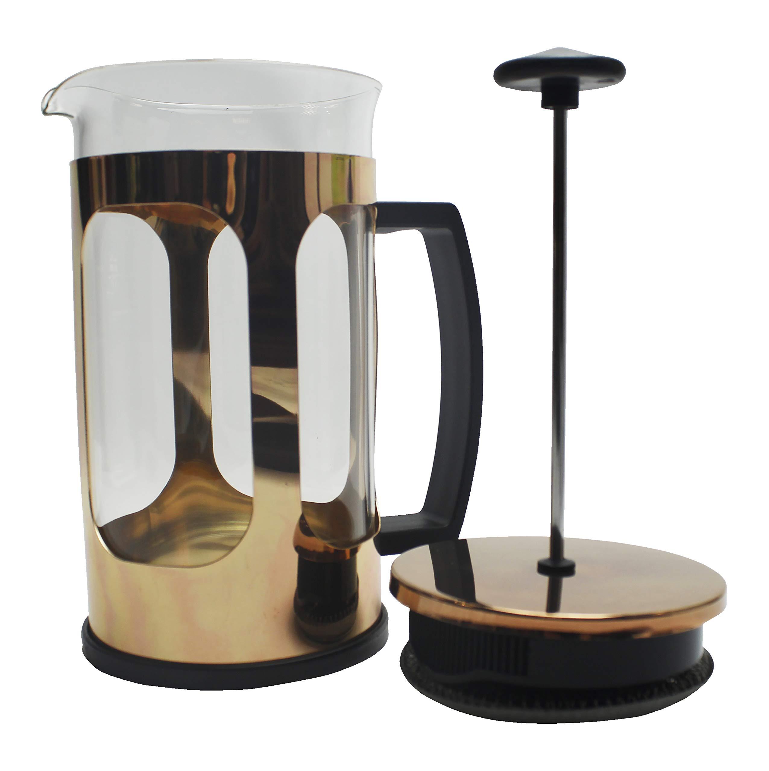 Devon Ceramics Ltd See SKU - Cafetera de émbolo grande (cristal de ...