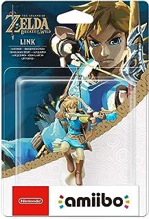 Amiibo The Legend of Zelda: Breath of the Wild Link con l'Arco Figurina