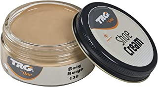 TRG Leather Cream Shoes for Bags, Nourishment and Care, Many Colors, 1.7 fl.Oz (130 - Beige)
