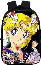 Sailor-Moon Schooltas voor dagelijks gebruik, reizen en school, waterafstotende schoolrugzak, geschikt voor basisschool