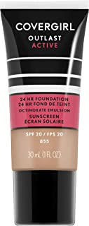 Covergirl Outlast Active Foundation, Soft Honey, 1 Ounce