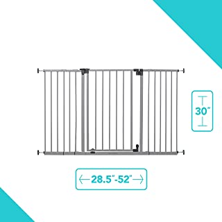 Summer Infant Secure Space Extra-Wide Safety Gate, 28.5 – 52 Inch Wide, for..