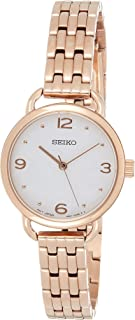 Seiko Wrist Watch Womens Quartz Dress Watch, Analog and Stainless Steel - SUR672P1