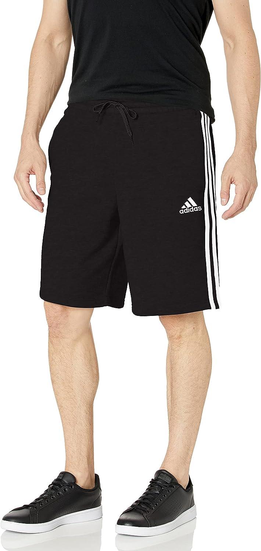 Now on sale adidas Men's Essentials gift Fleece Shorts 3-Stripes
