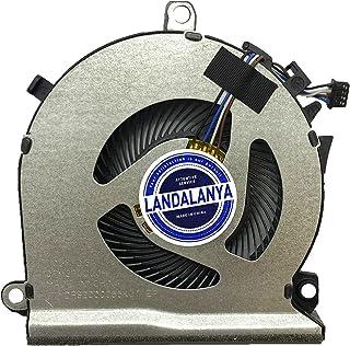 Landalanya Replacement CPU or GPU Fan for HP Pavilion Gaming 15-EC Series Cooling Fan 15-EC0013D Service PN: L77560-001 DC...
