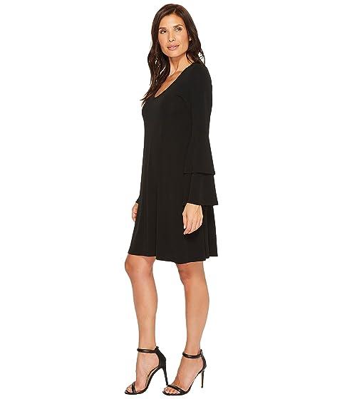 Bell Kane Sleeve Karen Dress Tiered wCSqxvB