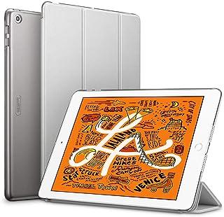 ESR iPad Mini 5 2019 ケース 軽量 薄型 スマート カバー 耐衝撃 傷防止 クリア ハード 背面 ケース 三つ折り スタンド オートスリープ ウェイクアップ 機能 iPad Mini5(第五世代) 専用(グレー)