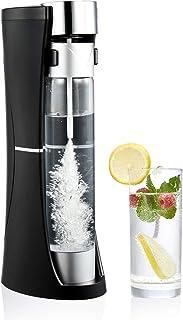 CO-Z Desktop Sparkling Water Maker Black, 1 Liter Homemade Soda Pop Maker Machine, 1.75 Pint Seltzer Water Fizzy Drink and...