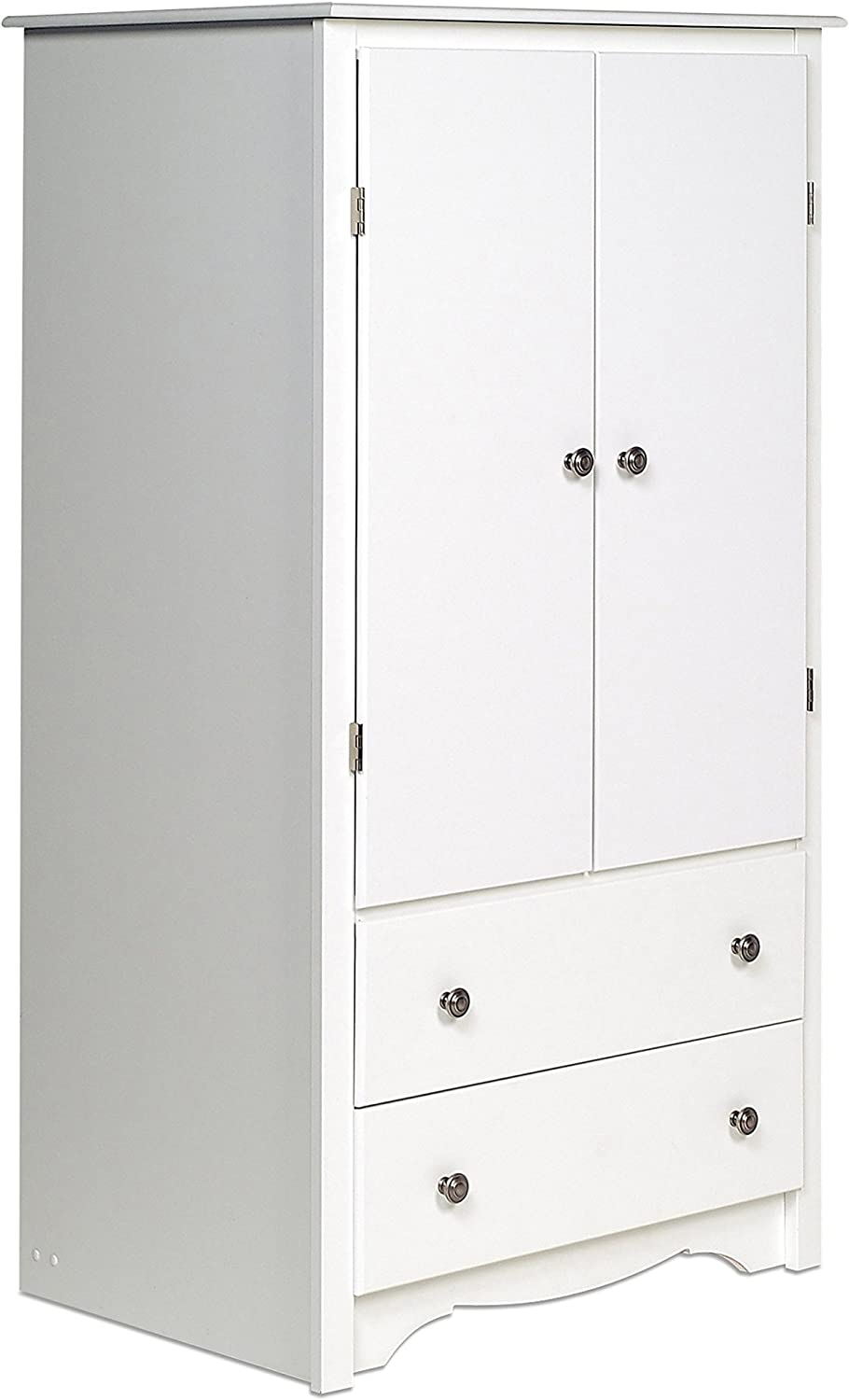 Prepac SEAL limited product Selling and selling Monterey 2-Door White Armoire