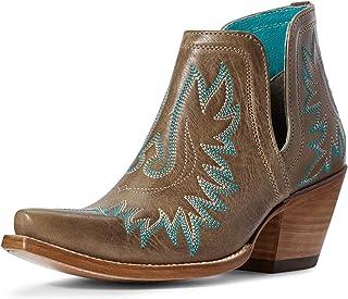 حذاء حريمي غربي من ARIAT بني اللون