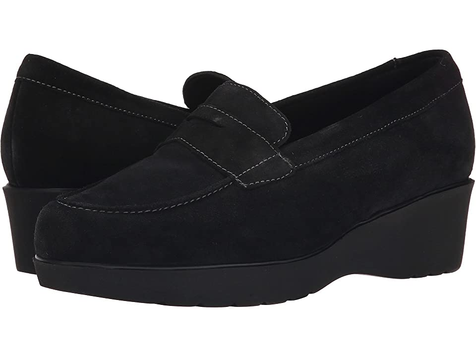 Munro Katie (Black Calf Suede) Women