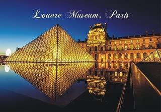 Louvre Museum, Paris, France, Landmark, Souvenir Magnet 2 x 3 Photo Fridge Magnet