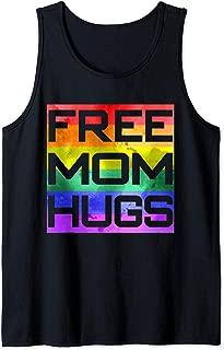 Free Mom Hugs LGBT Proud Mother Mama Pride  Tank Top