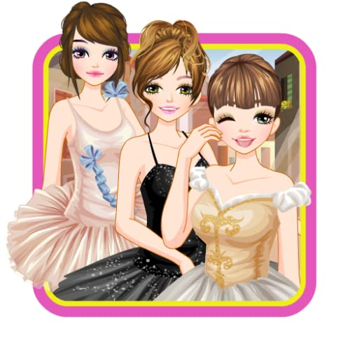 Ballerina Girls - Dress up