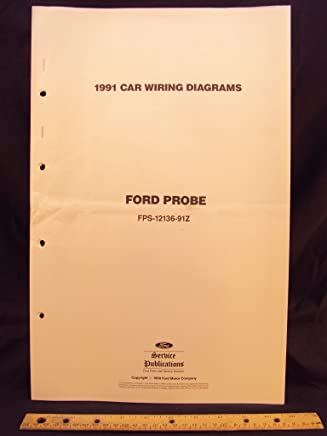 1991 ford probe electrical wiring diagrams / schematics