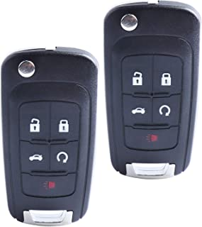 $27 » Replacement Uncut Trunk Car Key Fob Keyless Entry Remote Flip Fits 2010-2019 Chevy Equinox,2011-2016 Chevy Cruze,2010-2016...
