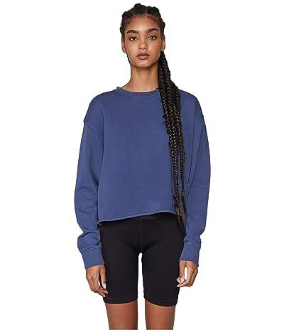 Spiritual Gangster Mazzy Pullover Sweatshirt (Set Us Faded Navy) Women