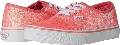 (Neon Glitter) Pink/True White