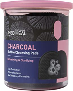 MEDIHEAL Charcoal Bubble Cleansing Pads (20 ea)