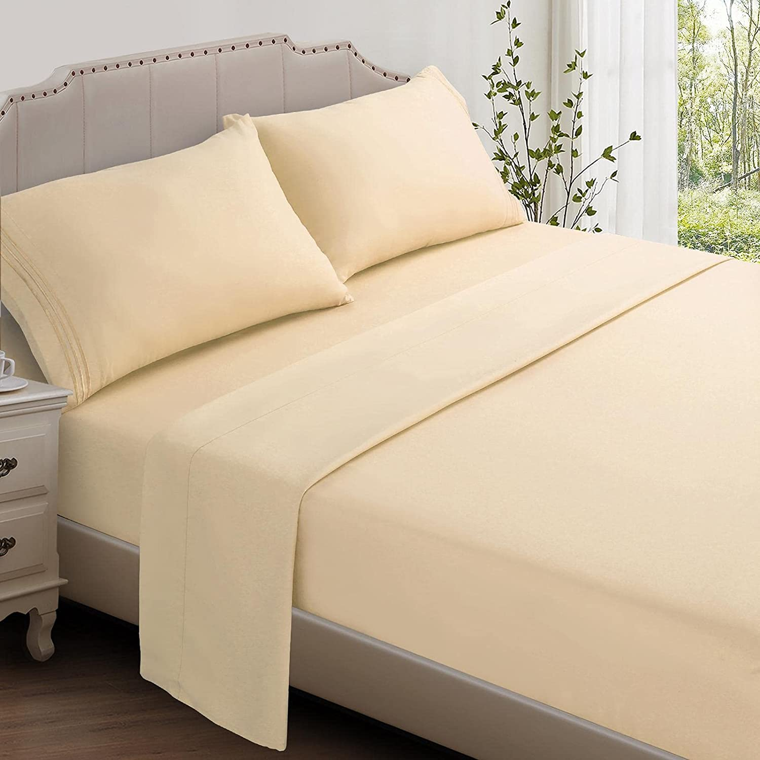 Industry No. 1 Luffield Super Soft Bed Sheet Set 18 Large-scale sale - Brushed Microfiber Luxury