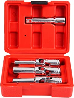 "Shankly 4 Piece 3/8"" Glow Plug Socket Set, Diesel Glow Plug Socket"