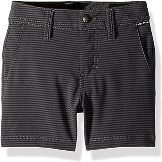"Volcom boys Frickin Snt Mix 18"" Hybrid 4 Way Stretch Short Youth Casual Shorts"