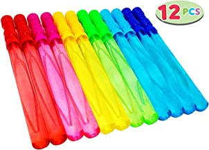 Joyin Toy 12 Pack 14'' Big Bubble Wand Assortment (1 Dozen) - Super Value Pack of Summer Toy Party Favor