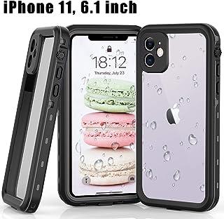 iPhone 11 Waterproof Case, YOGRE IP68 Waterproof Dustproof Case with Built-in Screen Protector Full Body Underwater Clear ...