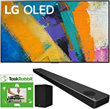 $3993 » LG OLED65GXPUA 65-inch GX 4K Smart OLED TV with AI ThinQ (2020 Model) Bundle SN10YG 5.1.2 ch High Res Audio Sound Bar with Dolby Atmos and Google Assistant + TaskRabbit Installation Services