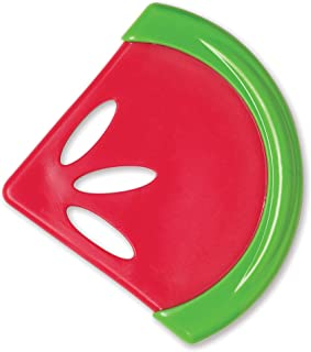 """Dr Brown'S Soothing Teether - Watermelon""""Coolees"""" -Te220-P2 Red/Green"""