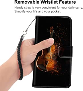 Wallet Case Compatible for Samsung Galaxy S8 (2017) 5.8 Version Elephone Soldier Music Violin Instrument Beograd Protective