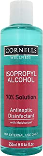 CORNELLS Isopropyl Alcohol Antiseptic Disinfectant, 250 ml