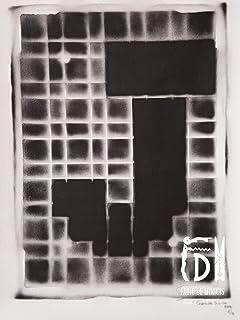 Letra J ABC Hort por Fabio De Minicis - Lienzo original 1/7-50 x 70 cm.