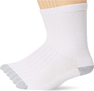 Hanes Ultimate Hanes Men's Ultimate 6-Pack X-Temp Cooling with FreshIQ Crew Socks