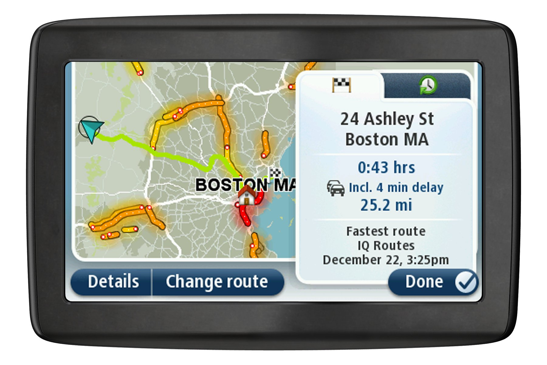 TomTom VIA 1505TM 5-Inch GPS Navigator with Lifetime Traffic /& Maps Discontinued by Manufacturer