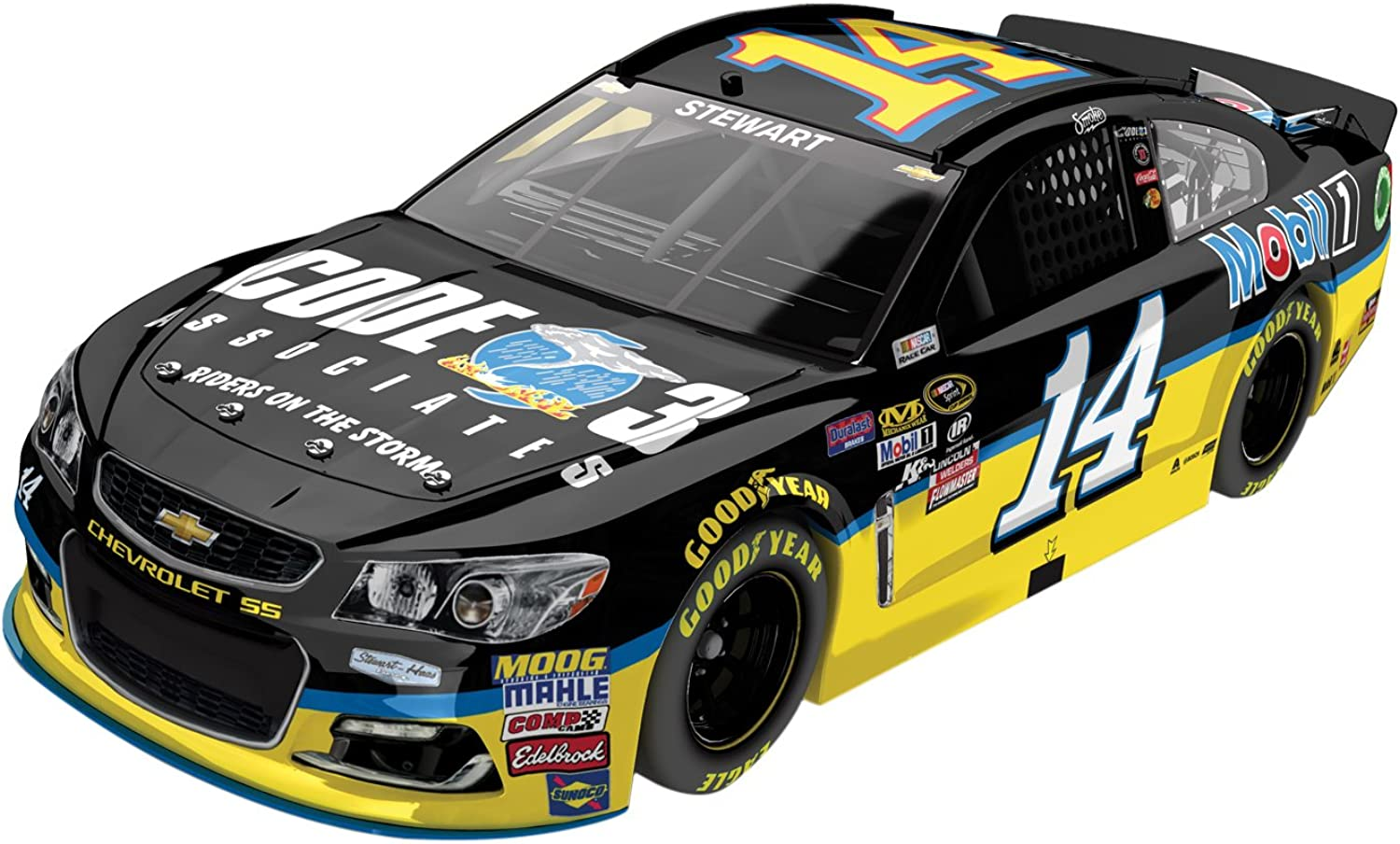 Lionel Racing Tony Stewart  14 Code 3 Associates 2016 Chevrolet SS NASCAR Diecast Car (1 24 Scale)