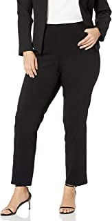 Briggs New York Women's Plus-Size Super Stretch Millennium Welt Pocket Pull-on Career Pant