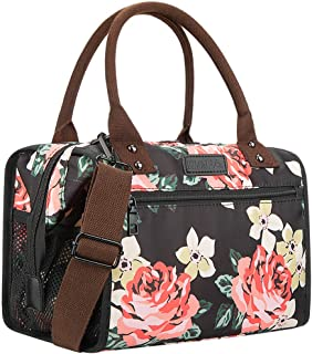 WAFA Insulated Lunch Bag for Women Men Large Capacity Lunch Box with Adjustable Shoulder Strap Multi-Purpose Lunch Tote Ba...