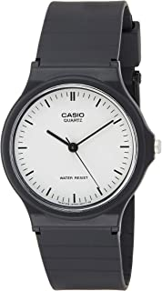 Casio Men's Silver Dial Resin Analog Watch - MQ-24-7E2LDF