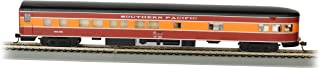 Bachmann Industries Southern Pacific Daylight Smooth-Side Observation Car with Lighted Interior (HO Scale), 85'