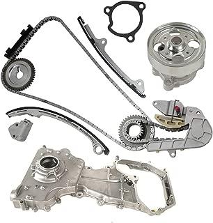 Timing Chain Kit with Water Pump & Oil Pump for 2002-2006 Nissan Altima Sentra SE-R 2.5L L4 16V DOHC QR25DE Engine