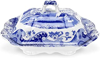 Spode Blue Italian Vegetable Dish and Cover, 12