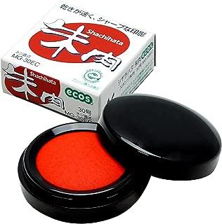Shachihata ink pad (ECOS) No. 30 (japan import)