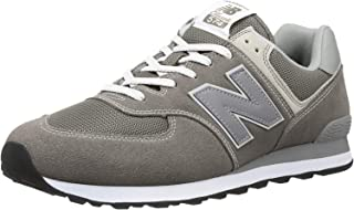 Men's Iconic 574 Sneaker, Grey, 10.5 D US