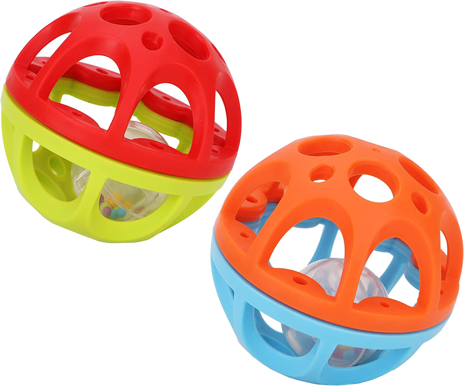 Toyland 10.5cm Bendy n Roll Shake Rattle Ball Courier shipping free shipping - Mail order Sensor