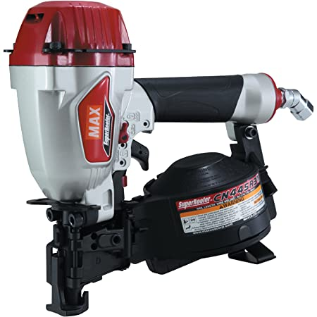 """MAX USA CORP SuperRoofer CN445R3 Roofing Coil Nailer up to 1-3/4"""""""