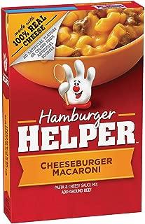 Betty Crocker Hamburger Helper, Cheeseburger Macaroni Hamburger Helper, 6.6 Oz Box (Pack of 12)